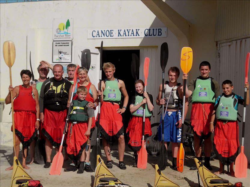 1ère équipe prête à embarquer 15 août 2013